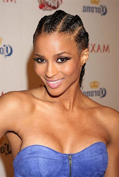 21 Natural Cornrow Hairstyles with Pictures [2018