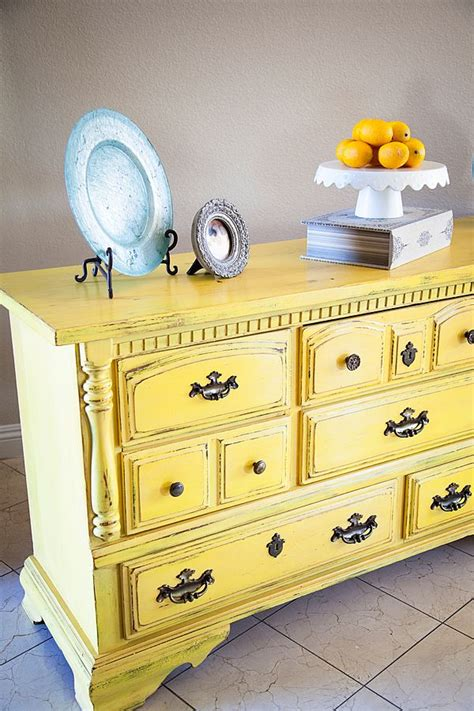 25 best ideas about yellow chalk paint on