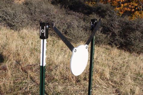 rogue shooting targetsar  steel gong target hung    post hanger www