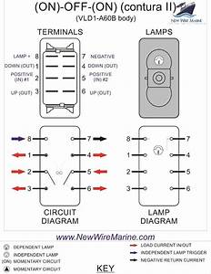 Marine Switches Wiring Diagrams