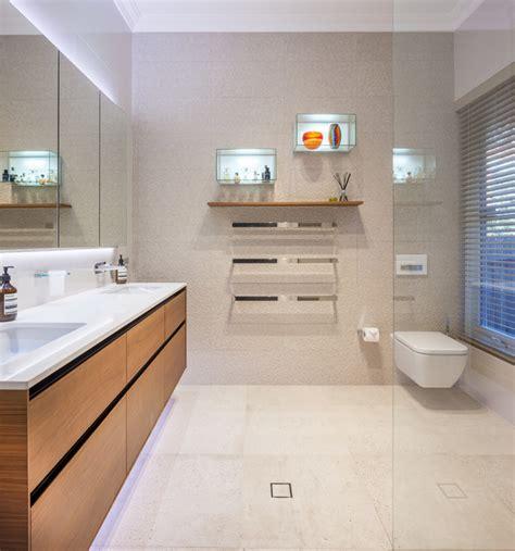 Bathroom Lighting Perth by Perth Bathrooms Mosman Park Contemporary Bathroom