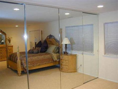sliding glass mirrored closet doors the interior design