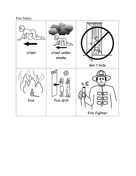 fire safety worksheets for preschoolers free printable safety worksheets preschool free 226