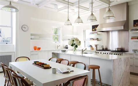 Kitchens With Islands Ideas - 25 ways to update your kitchen from pinterest stylecaster
