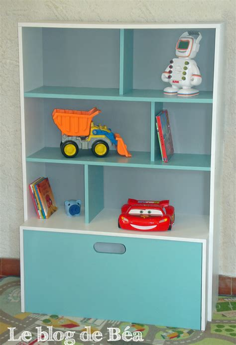chambre d馗o diy étagère pour chambre d 39 enfant et coffre à jouets le de béa