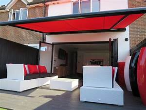 Large Retractable Awnings - Patio And Garden