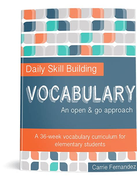 50% Off Daily Skills Building Vocabulary Curriculum  Only $997