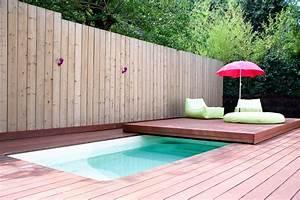 ide amnagement piscine interesting formidable idee With idee amenagement jardin paysager 13 amenagement de bassin cascade et lame deau en eure et