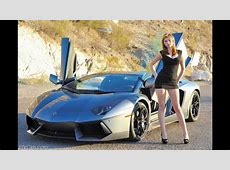 Lamborghini Beautiful Car And Beautiful Girl YouTube