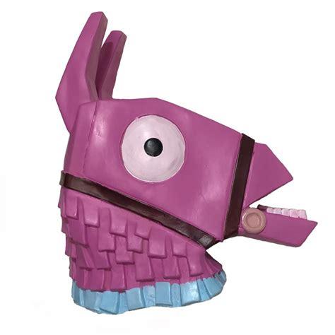 fortnite troll stash llama latex mask cosplay accessories