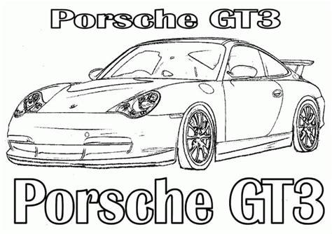 Porsche Coloring Pages  Coloring Home