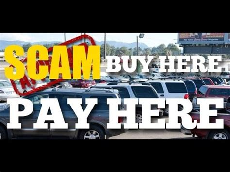 buy  pay  dealership scam youtube