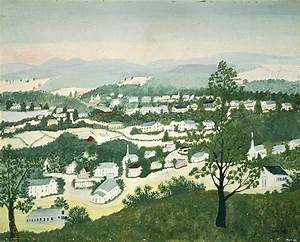In The Green Mountains by Grandma Moses