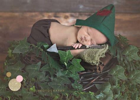 robin hood costume newborn photography props newborn baby