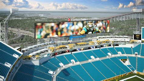 At Jaguars' New Stadium, Come For The Football Or The