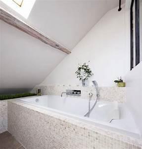 badkamer onder een schuin dak huis inrichtencom With kap carrelage