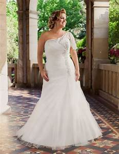 Stylish wedding dresses for curvy brides for Curvy wedding dresses