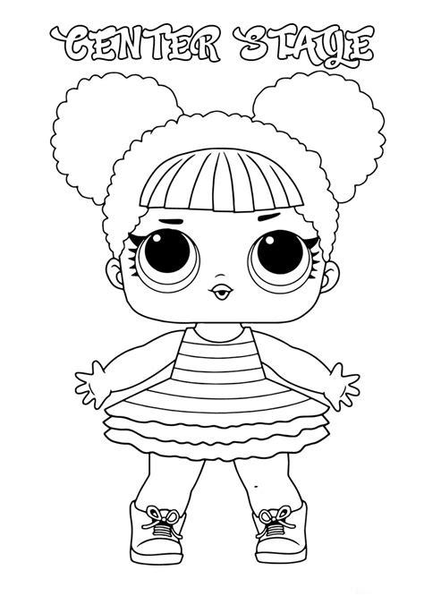 Juegos de lol surprise para colorear : LOL Surprise doll para colorear. ¡Imprime gratis! Toda la serie