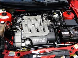 2002 Mercury Cougar V6 Coupe 2 5 Liter Dohc 24