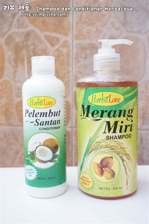 Review Shoo Merang Miri review shoo merang miri dan conditioner santan