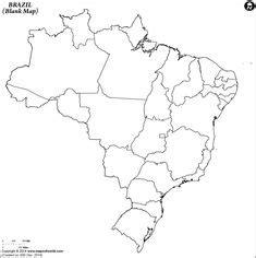 map  brazil description  political map  brazil