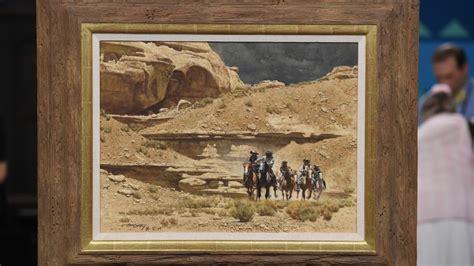 frank mccarthy   owl hoot trail oil painting