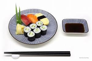 Teller Set Weiß : sushi teller set blau wei morita ~ A.2002-acura-tl-radio.info Haus und Dekorationen