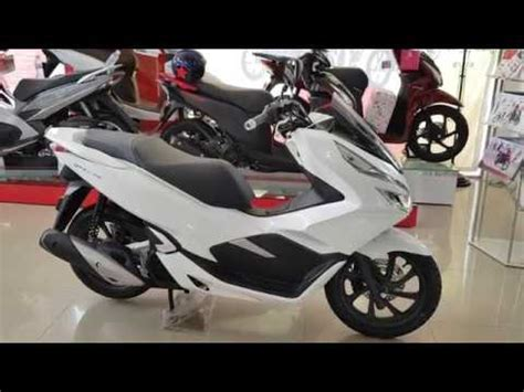 Pcx 2018 White by Honda Pcx Version 2018 White Color With Smartkey