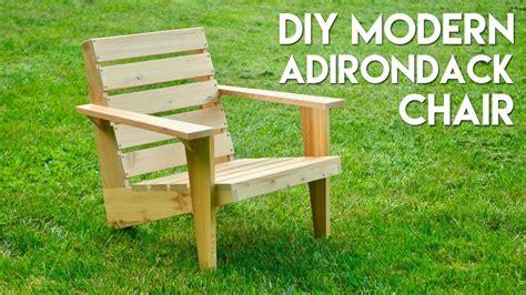 diy modern chair diy modern adirondack chair how to build woodworking Diy Modern Chair