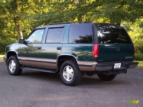 1998 Chevrolet Tahoe by 1998 Emerald Green Metallic Chevrolet Tahoe Lt 4x4