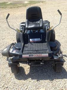 Mtd Gold Zero Turn Riding Mower