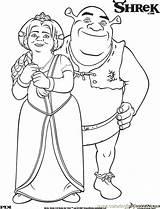 Shrek Coloring Pages Printable Fiona Princess Disney Shrek3 Colouring Sheets Third Characters Books Pinocchio Cartoons Adult Wedding Printables Coloringbookfun Cool sketch template