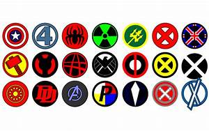 Vector Marvel logos | 123Freevectors