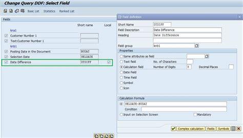 infoset query user defined fields sap blogs