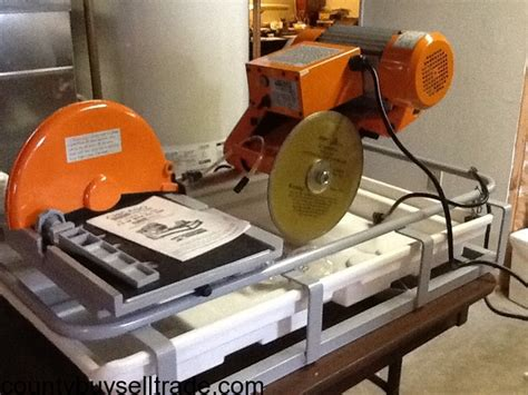 chicago electric 2 5 hp 10 quot tile saw w pvc tray arnold