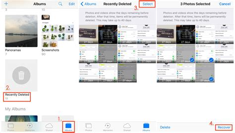 recently deleted photos iphone recover deleted photos from iphone 8 x 7 6s 5s 4s with Recen
