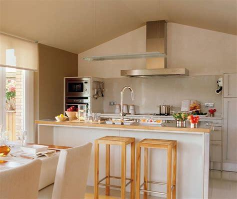 moda decoracion cocina comedor integrado casa en