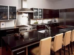 Stainless Steel Bar Pull Cabinet Handles by Dark Granite Countertops Hgtv