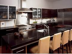 Kitchen Cabinets And Counters Dark Granite Countertops HGTV