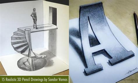 Easy 3d Pencil Drawings And Art