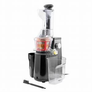 Extracteur De Jus Kitchen Cook : extracteur de fruits et l gumes pression douce mod le elixir de kitchencook noir ~ Melissatoandfro.com Idées de Décoration