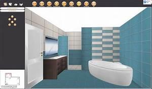 Logiciel Gratuit Calepinage Carrelage : logiciel salle de bain 3d gratuit ~ Melissatoandfro.com Idées de Décoration