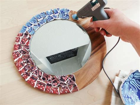 zrob lustro  rama  formie mozaiki