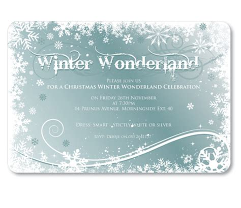 Winter Wonderland Party Invitations  Cimvitation. Windows Customer Support Number Template. Open Office Card Templates. Medical Certificate For Patient Template. It Resume Objectives Statements Template. Halloween Mask Printable Templates. Canteen Proposal Letter Sample. Nestl Waters North America Template. Word Template For Address Labels Template