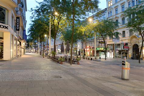 mariahilfer strasse vienna pedestrianization pittel