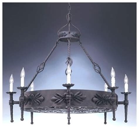 Large Rustic Chandelier Lighting by Alhambra Collection Large Wrought Iron Chandelier