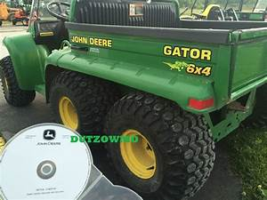 John Deere 4x2    6x4 Gator Workshop Repair Manual On Cd