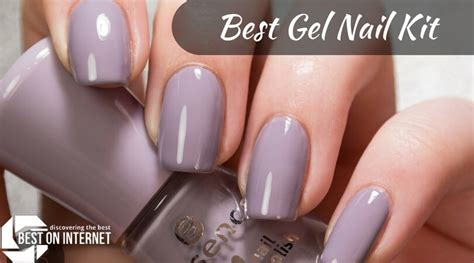 Best Gel Nail Polish Kit At Home For 2018