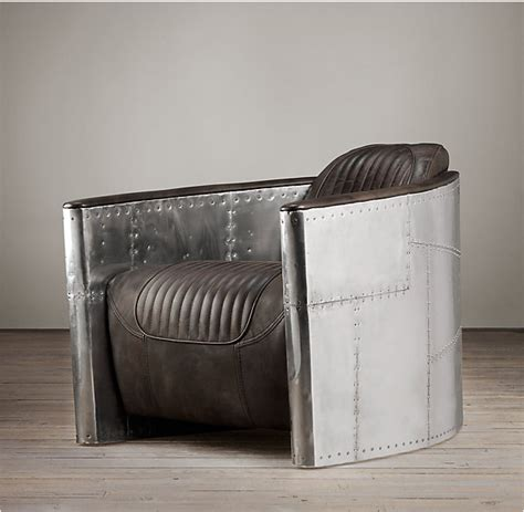 Restoration Hardware Aviator Desk Chair by Restoring A Leather Home Improvement