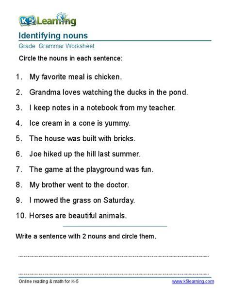 all worksheets 187 kinds of nouns worksheets for grade 6